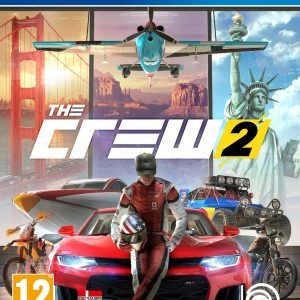 Playstation 4 Ps4 The Crew 2 Peli