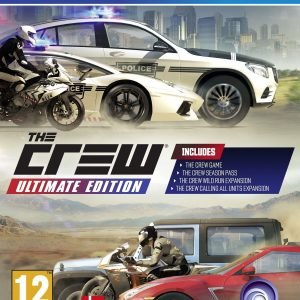Playstation 4 Ps4 The Crew Ultimate Edition Peli