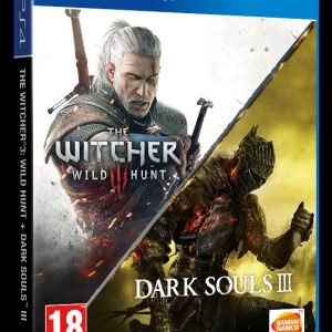 Playstation 4 Ps4 The Witcher Iii Wild Hunt Dark Souls Iii Kokoelma Peli