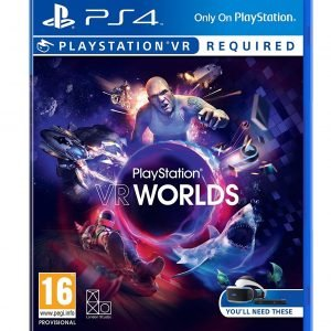 Playstation 4 Ps4 Vr Worlds Peli Peli