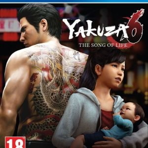 Playstation 4 Ps4 Yakuza 6 The Song Of Life Launch Edition Peli