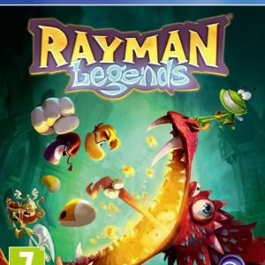 Playstation 4 Rayman Legends Ps4 Peli