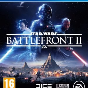 Playstation 4 Star Wars Battlefront Ii Standard Edition Ps4 Peli