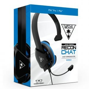 Playstation 4 Turtle Beach Recon Chat Ps3/4 Headset Pelikuulokkeet