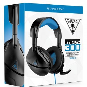 Playstation 4 Turtle Beach Stealth 300p Ps3/4 Headset Pelikuulokkeet