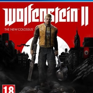 Playstation 4 Wolfenstein Ii: The New Colossus Peli