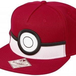 Pokemon 3d Poke Ball Snapback-Lippis