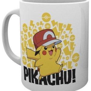 Pokemon Ash Hat Pikachu Muki