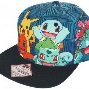 Pokemon Charmander And Friends Snapback-Lippis