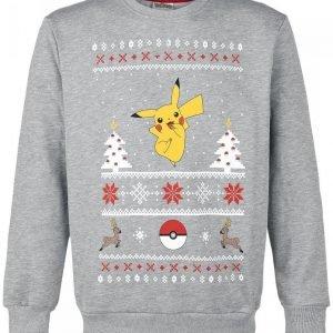 Pokemon Pikachu Christmas Sweater Pusero