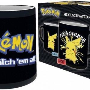Pokemon Pikachu Heat Change Mug Muki