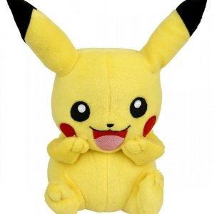 Pokemon Pikachu Laughing Pehmofiguuri