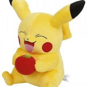 Pokemon Pikachu With Apple Pehmofiguuri