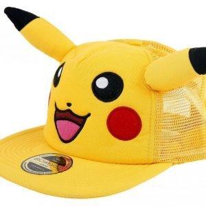 Pokemon Pikachu With Ears Snapback-Lippis