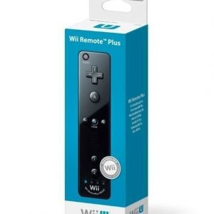 Remote Plus Black (Nintendo)