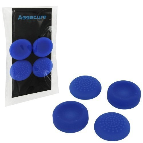 Silicone Thumb Grips: Concave & Convex - Blue