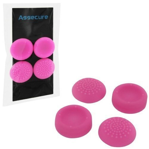 Silicone Thumb Grips: Concave & Convex - Pink