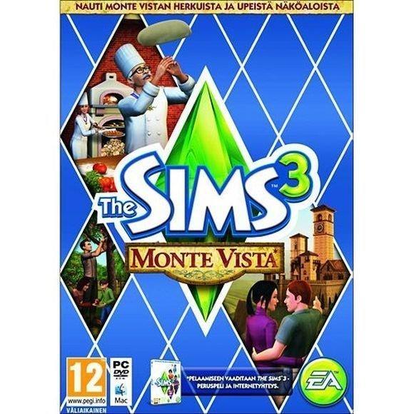 Sims 3 - Monte Vista (PC & Mac) (FI)