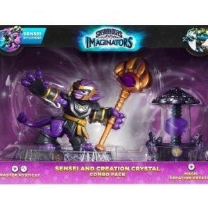 Skylanders Imaginators Sensei Mysticat + Magic Crystal