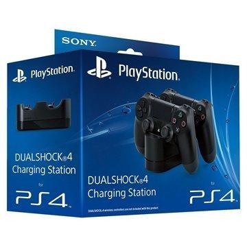 Sony Dualshock 4 Latausasema Musta