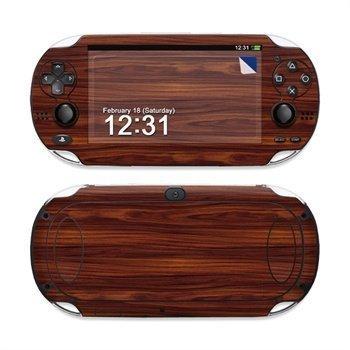 Sony PS Vita Skin Dark Rosewood