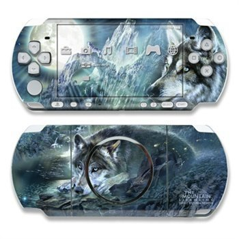 Sony PSP 3000 Skin Bark At The Moon