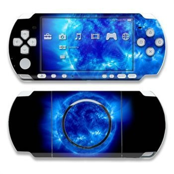 Sony PSP 3000 Skin Blue Giant