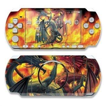 Sony PSP 3000 Skin Dragon Wars