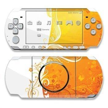 Sony PSP 3000 Skin Orange Crush