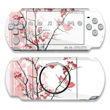 Sony PSP 3000 Skin Pink Tranquility