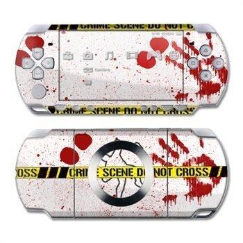 Sony PSP Slim & Lite Skin Crime Scene Revisited