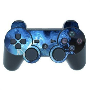 Sony PlayStation 3 Controller Skin Blue Quantum Waves