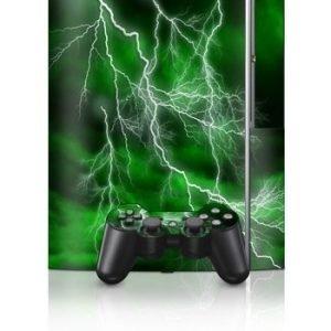 Sony PlayStation 3 Skin Apocalypse Green