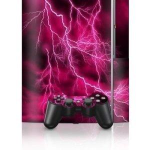 Sony PlayStation 3 Skin Apocalypse Pink