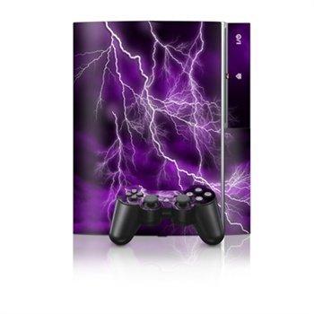 Sony PlayStation 3 Skin Apocalypse Purple