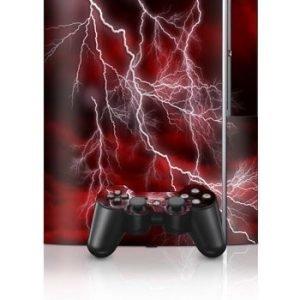 Sony PlayStation 3 Skin Apocalypse Red