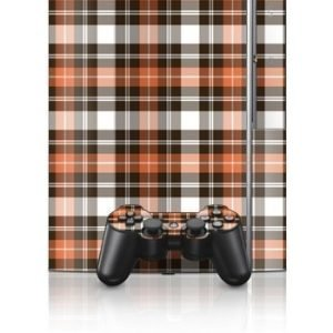 Sony PlayStation 3 Skin Copper Plaid