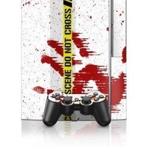 Sony PlayStation 3 Skin Crime Scene Revisited