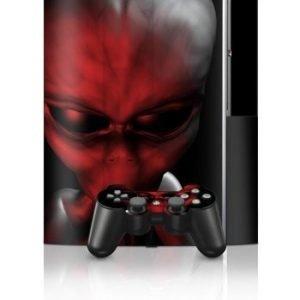Sony PlayStation 3 Skin Crimson Abduction