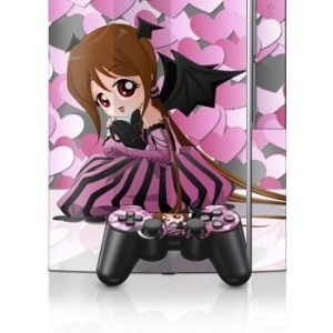 Sony PlayStation 3 Skin Dark Valentine