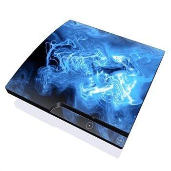 Sony PlayStation 3 Slim Skin Blue Quantum Waves