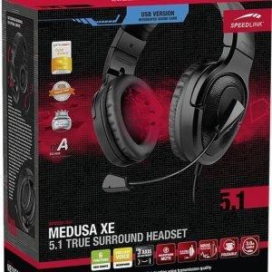 Speedlink Medusa XE 5.1 True Surround Headset - USB