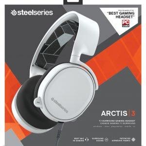 Steelseries Arctis 3 Pelikuulokkeet Valkoinen