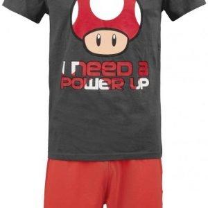 Super Mario I Need A Power Up Pyjama