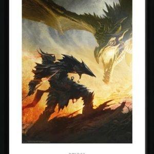 The Elder Scrolls V Skyrim Daedric Armor Kehystetty Kuva