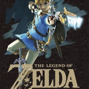 The Legend Of Zelda Breath Of The Wild Game Cover Juliste