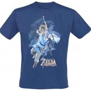 The Legend Of Zelda Breath Of The Wild Link With Arrow T-Paita