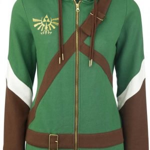 The Legend Of Zelda Cosplay Zip-Hoodie Naisten Vetoketjuhuppari