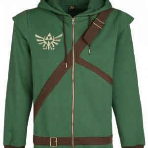 The Legend Of Zelda Cosplay Zip-Hoodie Vetoketjuhuppari