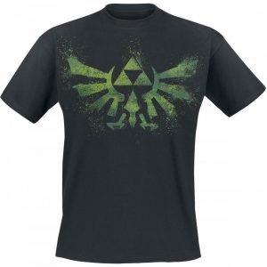 The Legend Of Zelda Crest Splatter T-Paita